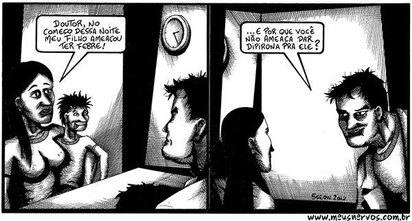 Tirinhas de um médico insano (2)