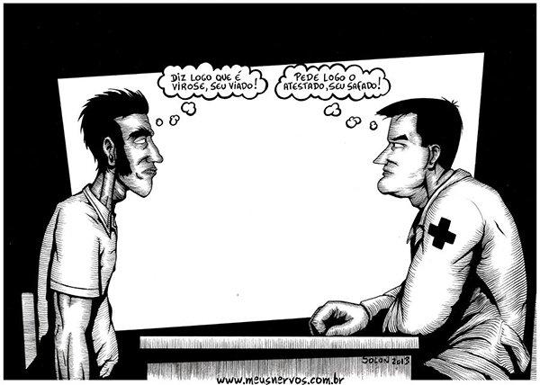 Tirinhas de um médico insano (3)