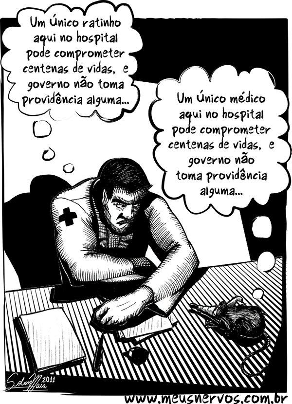 Tirinhas de um médico insano (6)