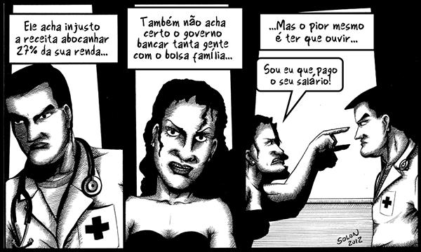 Tirinhas de um médico insano (7)