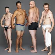 """se as propagandas de cueca mostrassem homens """"normais"""""""
