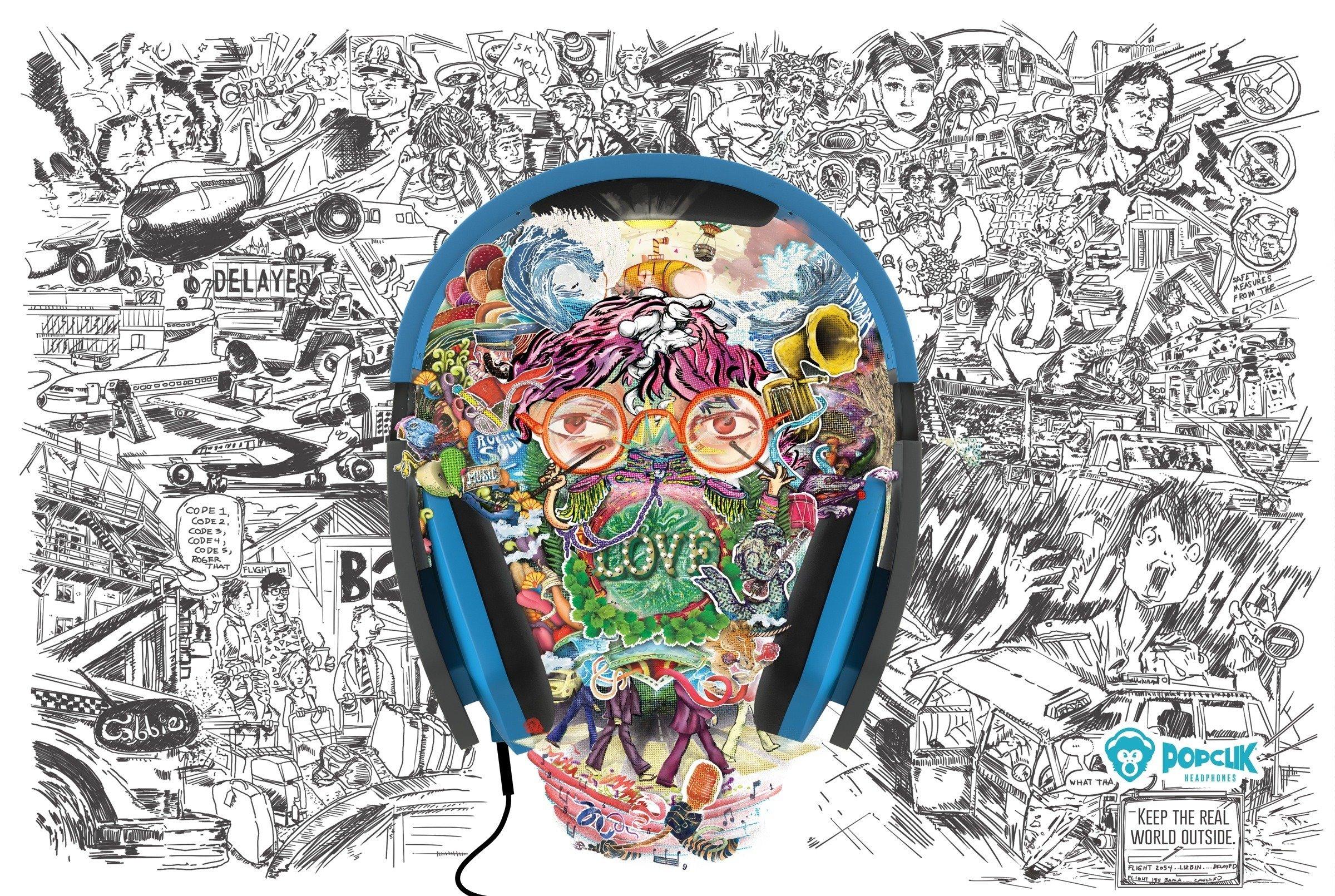 A diferença que um fone de ouvido faz