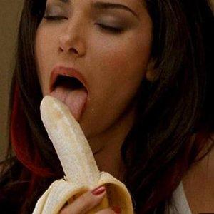 sexo oral banana