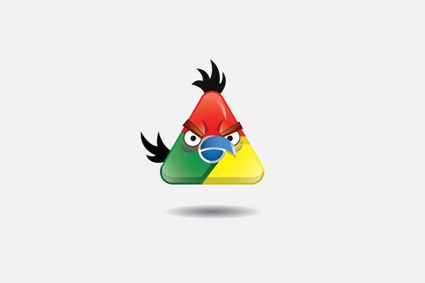 Angry Birds na logo de grandes marcas