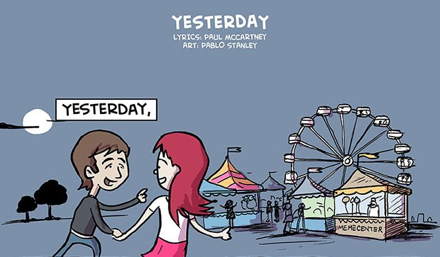 Música do dia – Yesterday