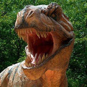 Passeando com o Dinossauro de estimação