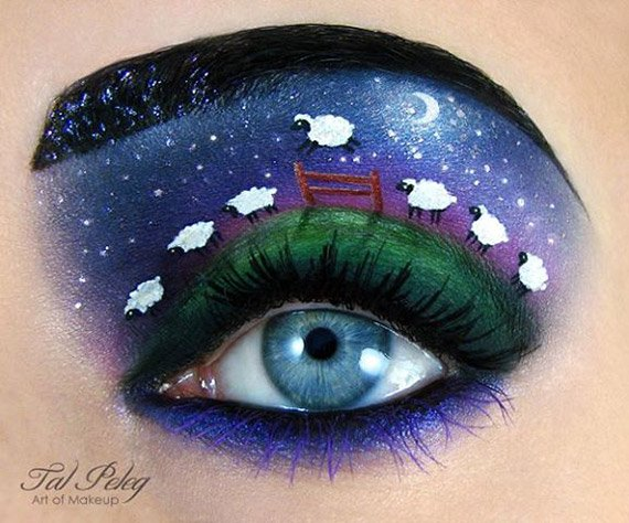 Amazing-Makeup-Artist-Tal-Peleg-transforms-Eyelids-into-Works-of-1
