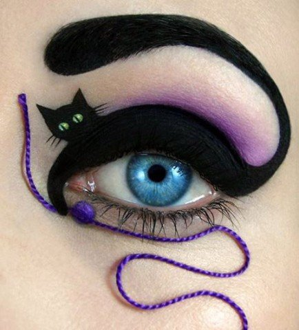 Amazing Makeup Artist Tal Peleg transforms Eyelids into Works of