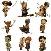 Pequenos super-heróis