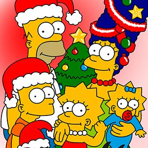 Abertura do especial de natal dos Simpsons