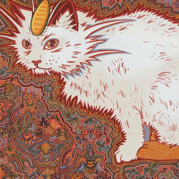 Gatos desenhados por um esquizofrênico Lous Wain (17)