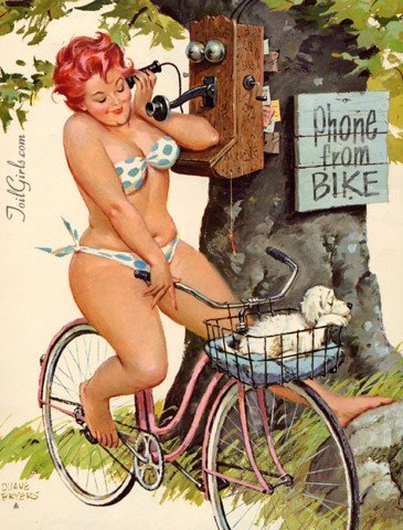 Hilda a pin up gordinha 13