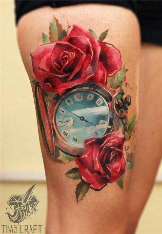 Quer tatuar a coxa e não sabe o que fazer 19