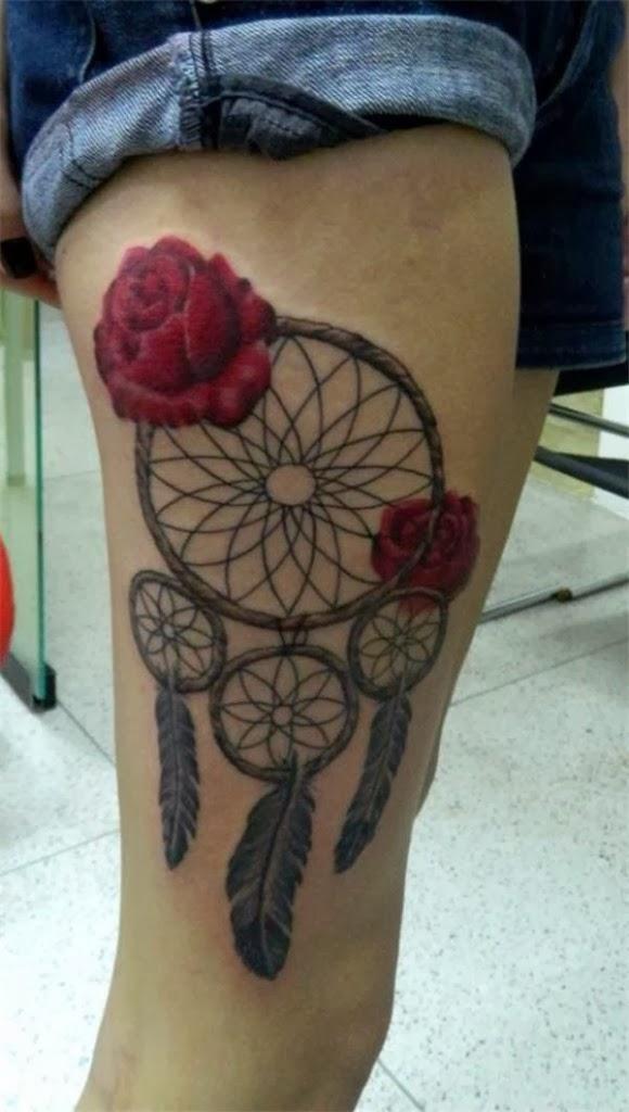Quer tatuar a coxa e não sabe o que fazer (50)