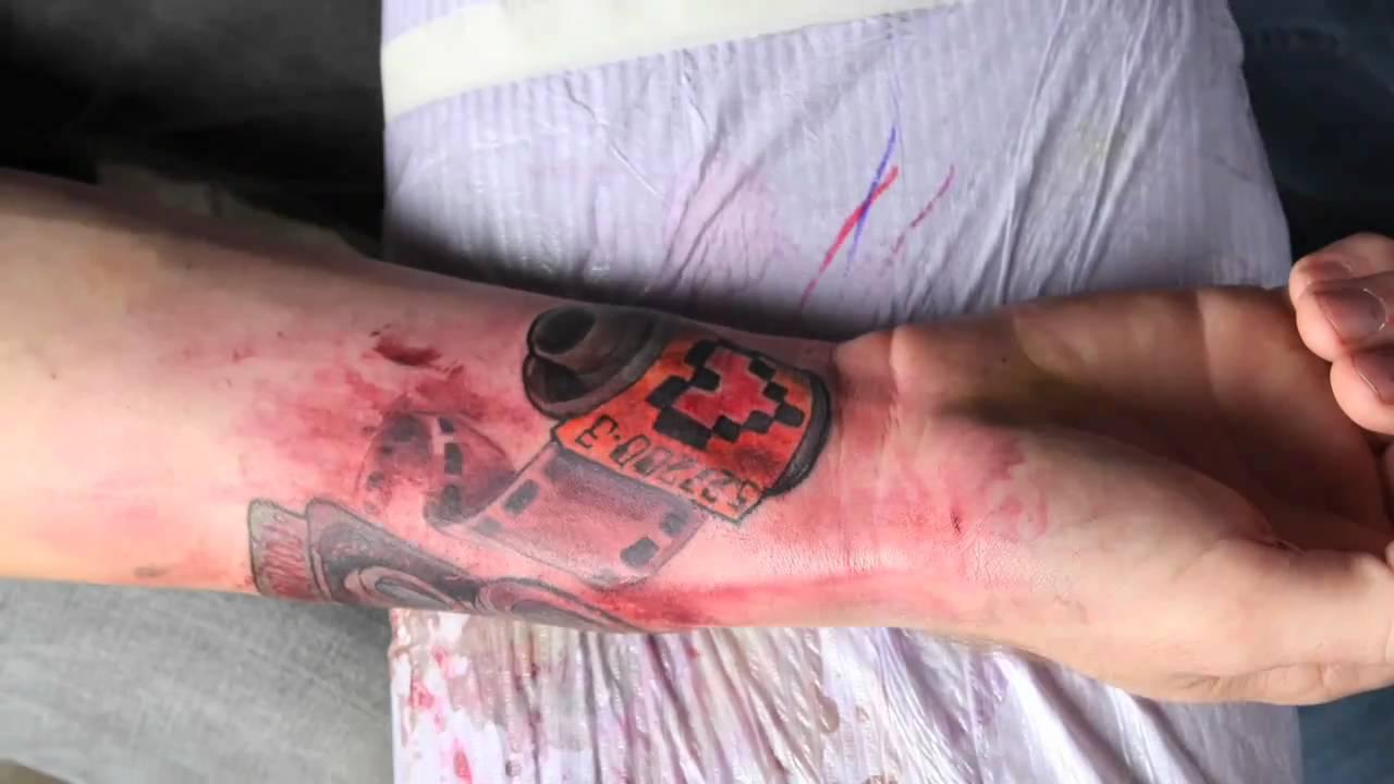 Tatuagem em stop motion