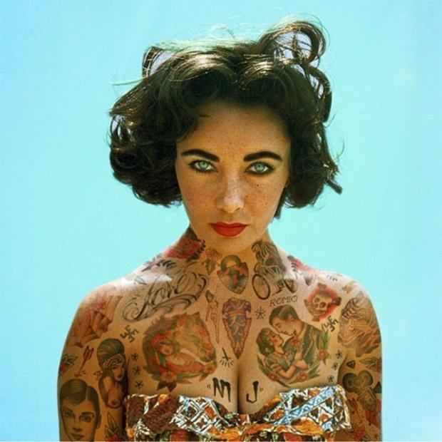 Celebridades com o corpo fechado de tatuagens (23)