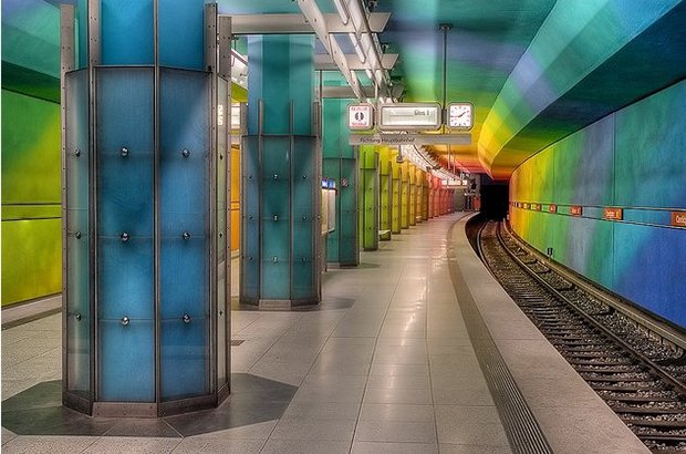 Estacoes de metro diferenciadas  (7-1)