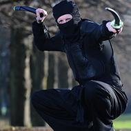 Quero ver bandido encarar o Vigilante Ninja