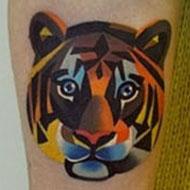 As fantásticas tatuagens estilo aquarela da russa Sasha Unisex