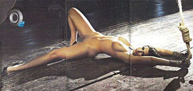 Playboy Mari Silvestre Caldeirão do Huck Março (18)