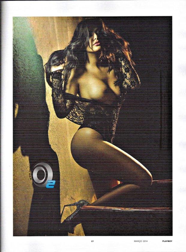 Fotos Playboy Mari Silvestre Caldeirão do Huck Março (3)