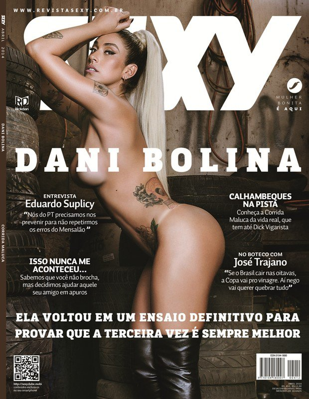 Fotos Sexy Dani Bolina abril