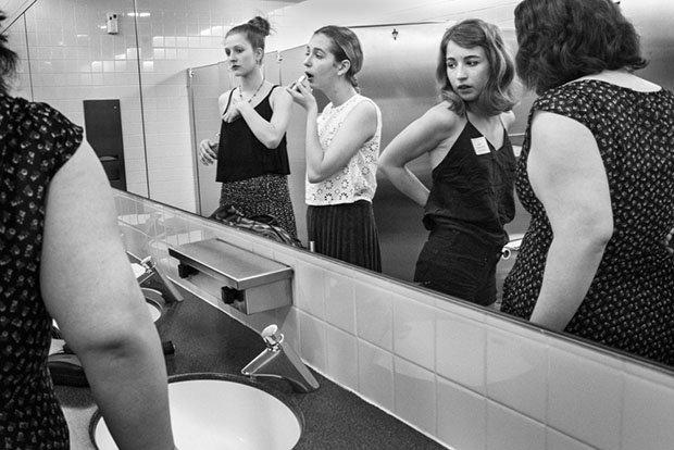 Os mistérios de um banheiro feminino