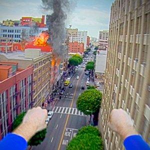 Até o superman está usando uma GoPro!