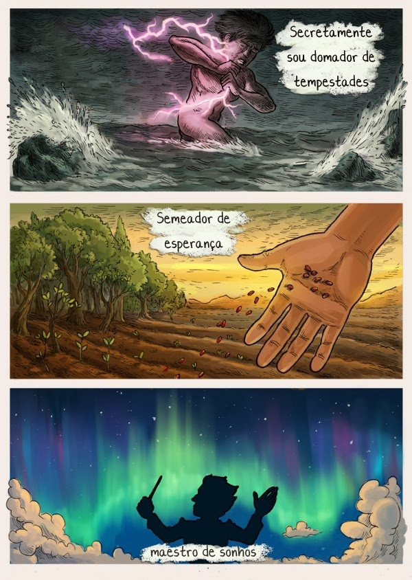 No fundo um mundo