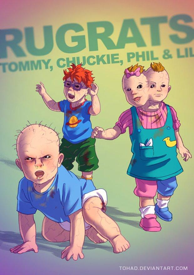 Nossos personagens infantis não são tão inocentes assim