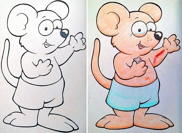 O que acontece quando adultos pegam livros de colorir (1)