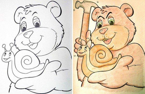 O que acontece quando adultos pegam livros de colorir 2