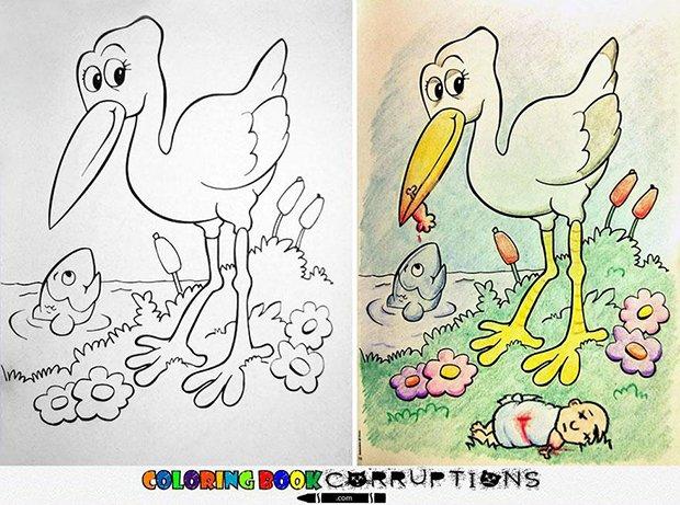 O que acontece quando adultos pegam livros de colorir (4)