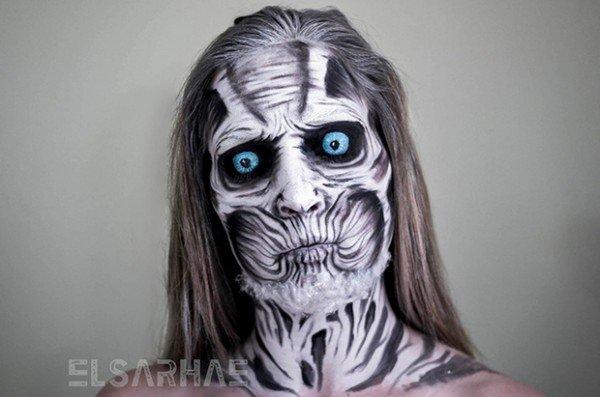Fantasias atraves de maquiagens 19