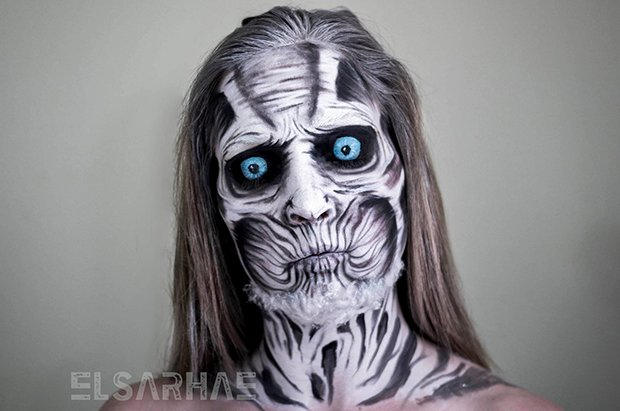 Fantasias através de maquiagens