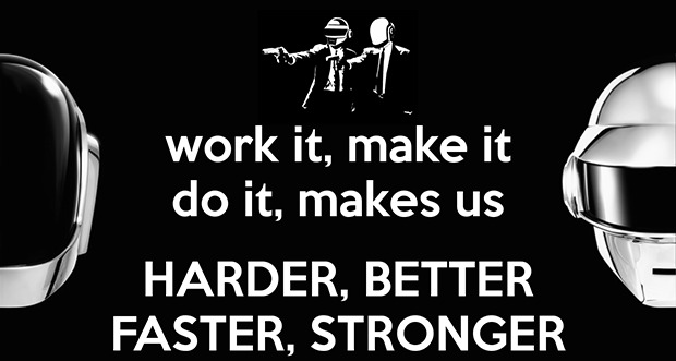 Harder Better Faster Stronger 3