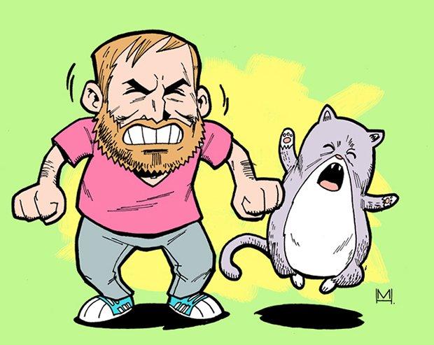 Ilustrações da vida de uma gatinha (11)