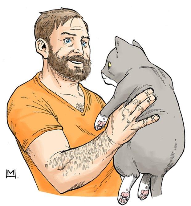 Ilustrações da vida de uma gatinha (13)