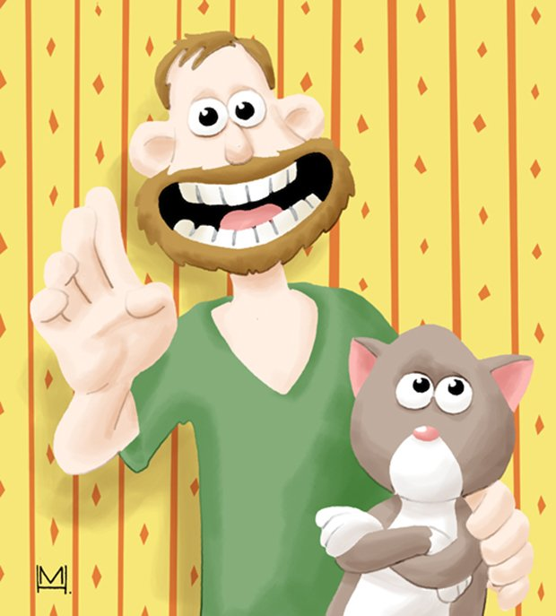 Ilustrações da vida de uma gatinha (2)