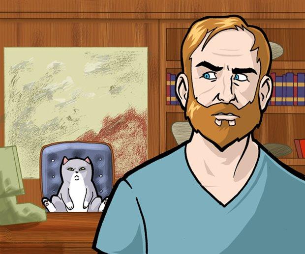 Ilustrações da vida de uma gatinha (20)