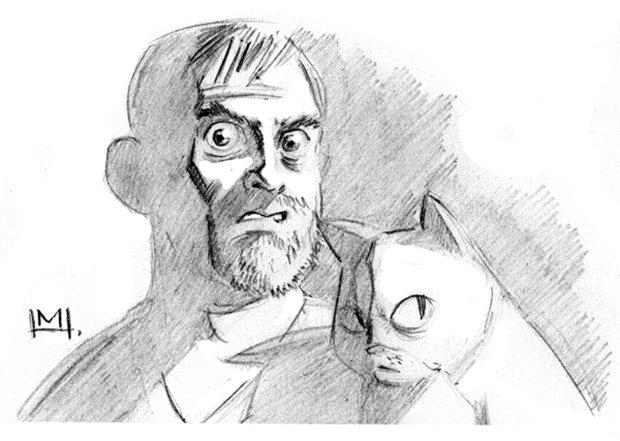 Ilustrações da vida de uma gatinha (24)