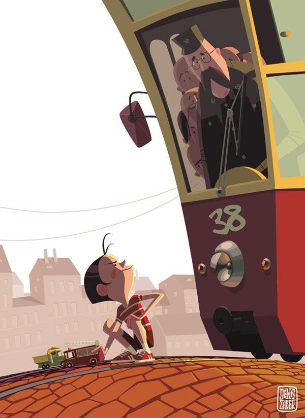 Ilustrações polêmicas de Denis Zilber (1)