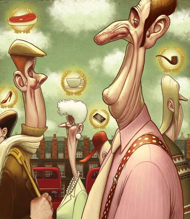 Ilustrações polêmicas de Denis Zilber (12)