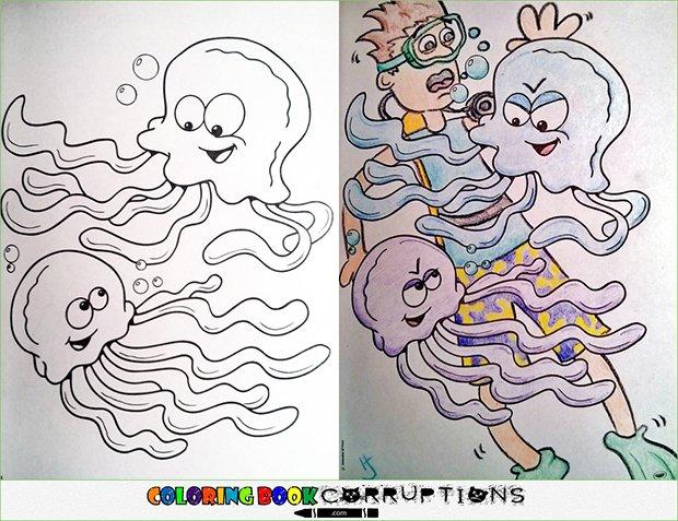 O que acontece quando adultos pegam livros de colorir (12)