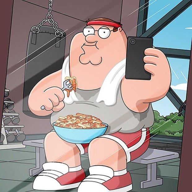 Peter Griffin, o mais novo usuário do Instagram (10)