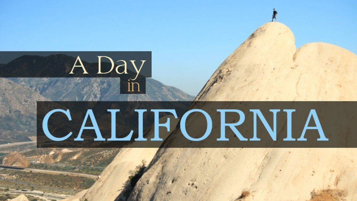 Um dia na California 1