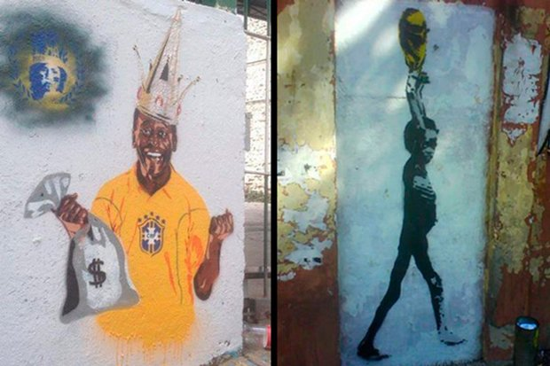 Grafite brasileiro e a insatisfação com a Copa do Mundo (1)