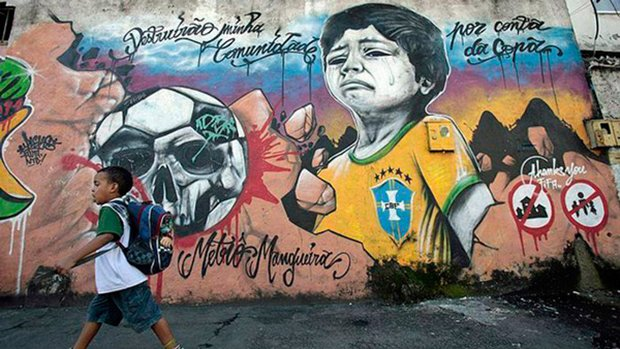Grafite brasileiro e a insatisfação com a Copa do Mundo (2)