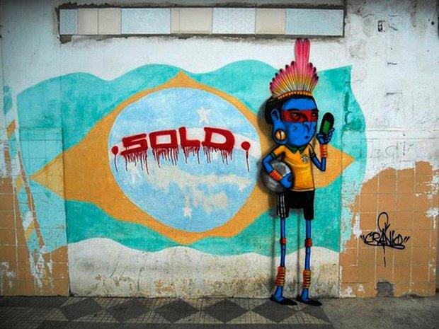 Grafite brasileiro e a insatisfação com a Copa do Mundo (3)