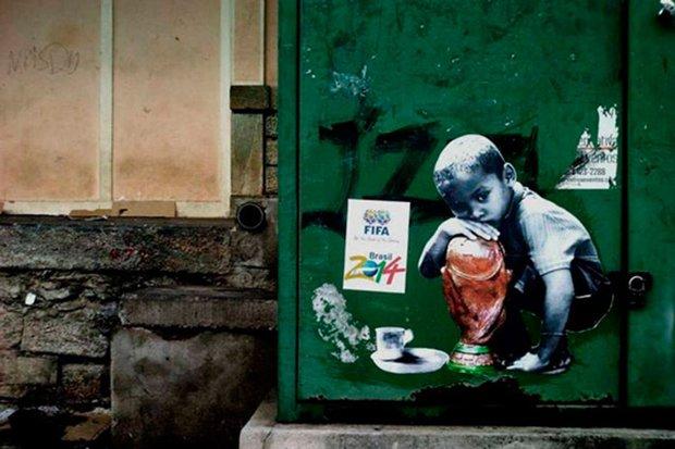 Grafite brasileiro e a insatisfação com a Copa do Mundo (4)